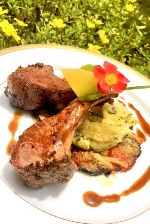 Viande Domaine Saint Aubin Restaurant Martinique